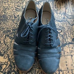 Clarks Cut Out Oxfords